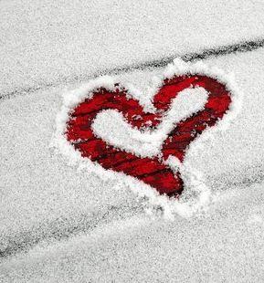 Rött-snöhjärta